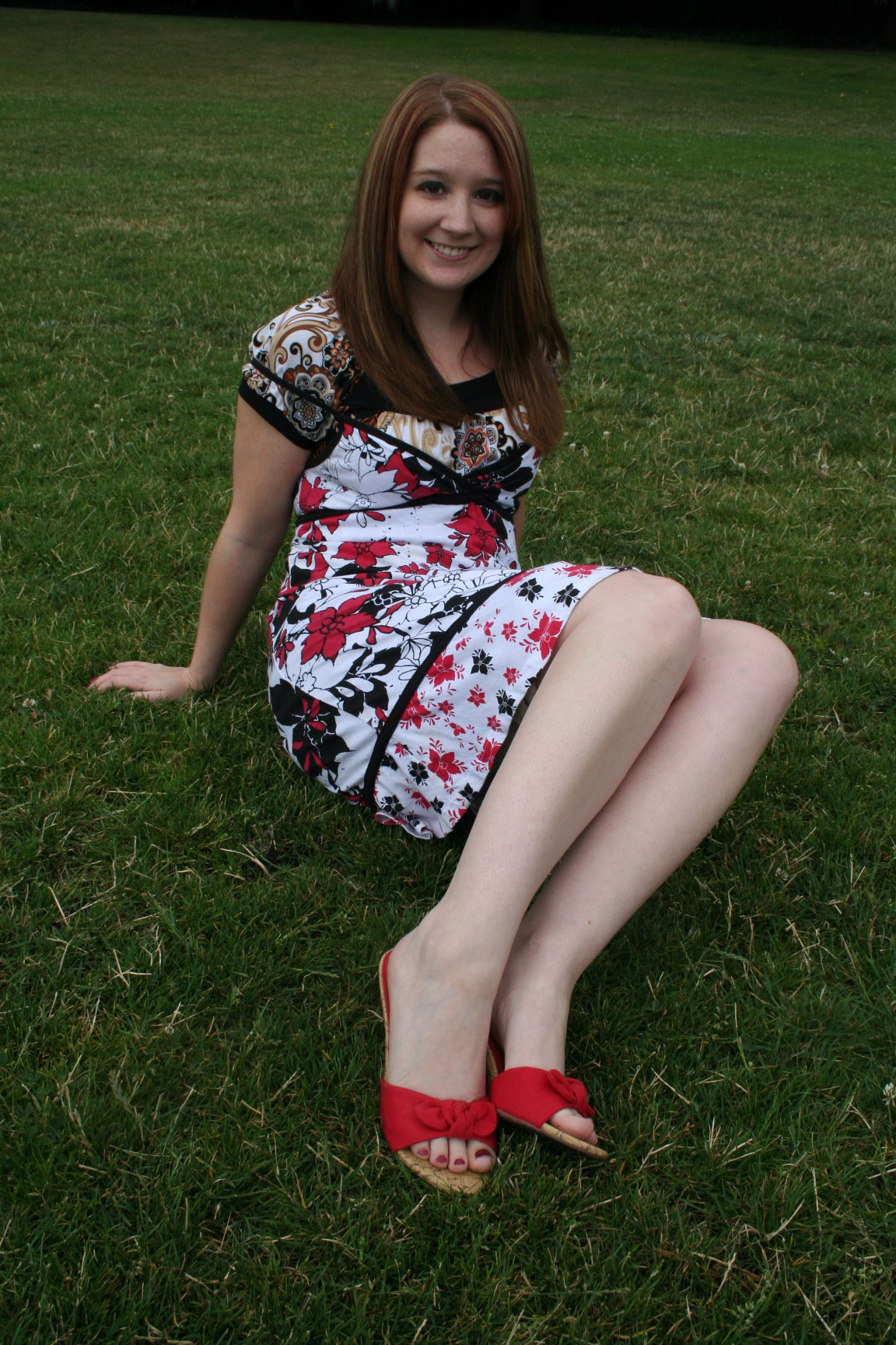 Girls foot models